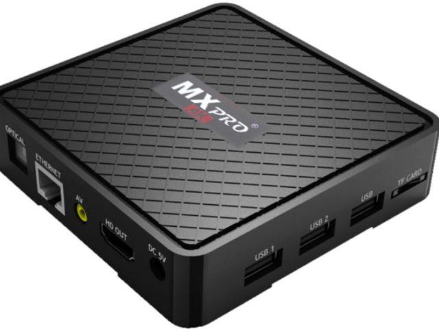 TV Box MX Pro 4K