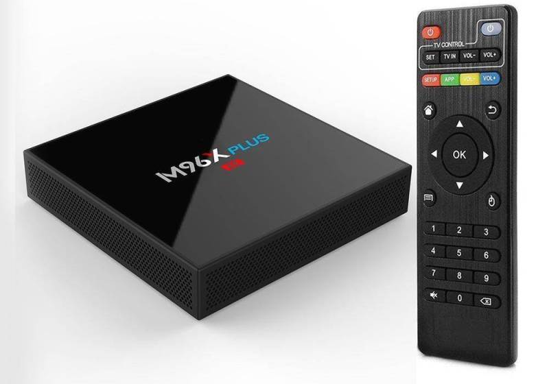 TV Box M96X PLUS
