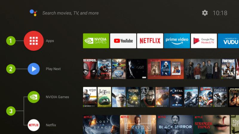 NVIDIA Shield TV получила Android 8.0 Oreo
