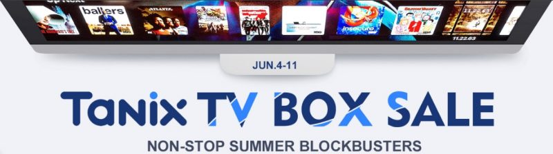 Tanix TV Box sale