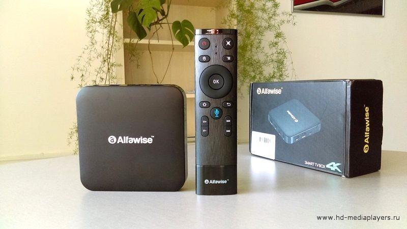 Обзор ТВ-приставки Alfawise Z1