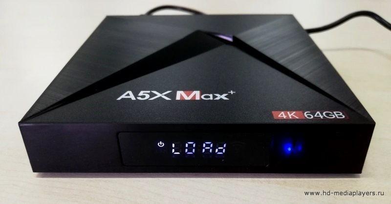 Система ТВ-бокса A5X MAX+